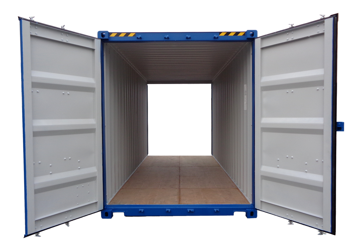 20FT High Cube Double Door New (One Trip) Shipping Container