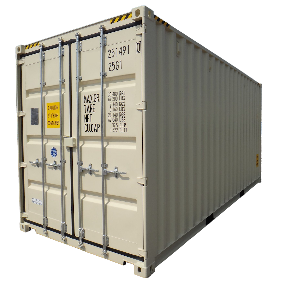 20FT High Cube New (One Trip) Shipping Container