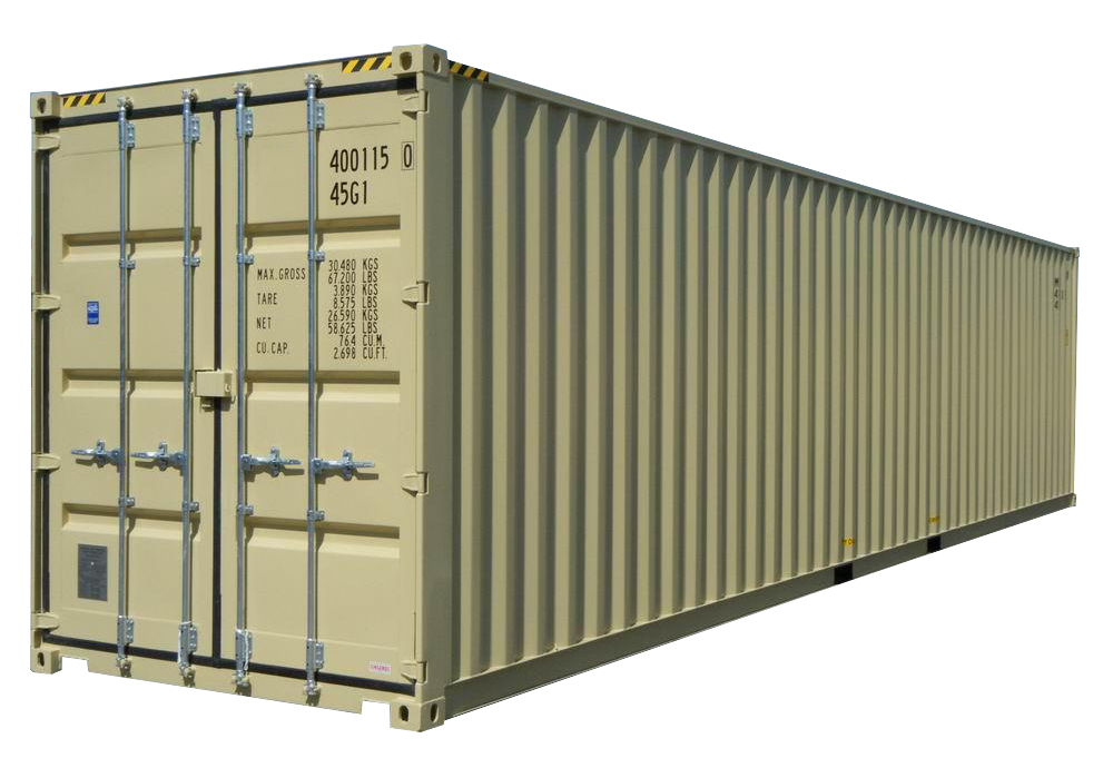 40FT High Cube New (One Trip) Shipping Container
