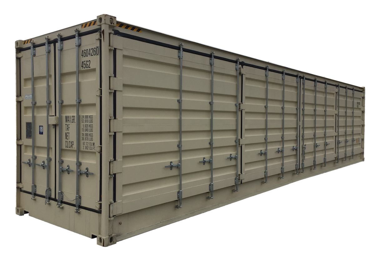 40FT High Cube Open Side New (One Trip) Shipping Container