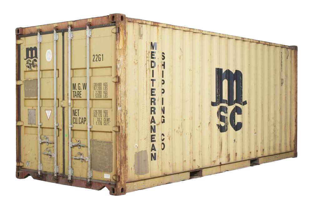 20FT Standard Wind and Water Tight (WWT) Shipping Container