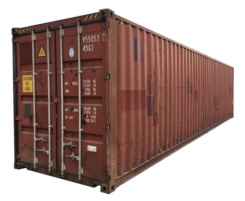 40FT High Cube Wind and Water Tight (WWT) Shipping Container