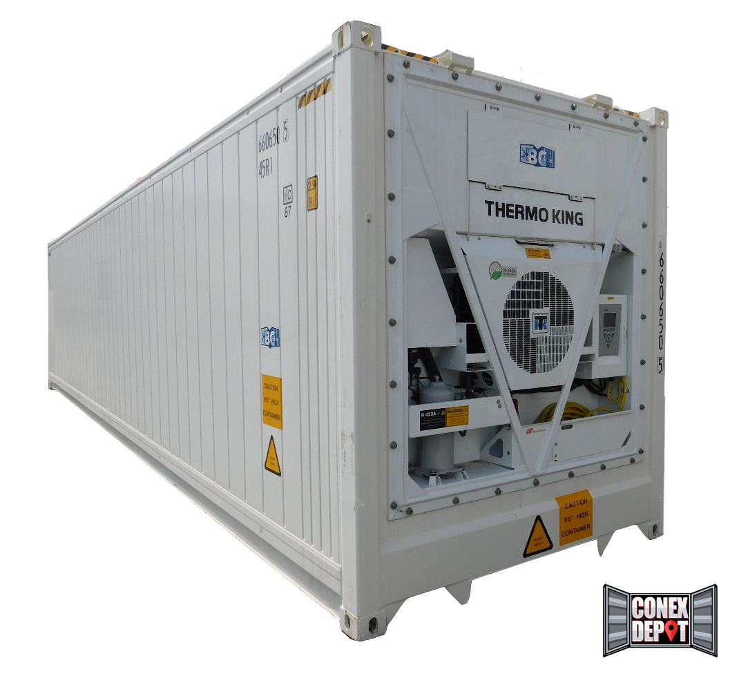40FT High Cube New (One Trip) Reefer Shipping Container