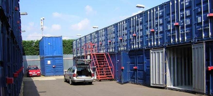 Shipping Container Self Storage business