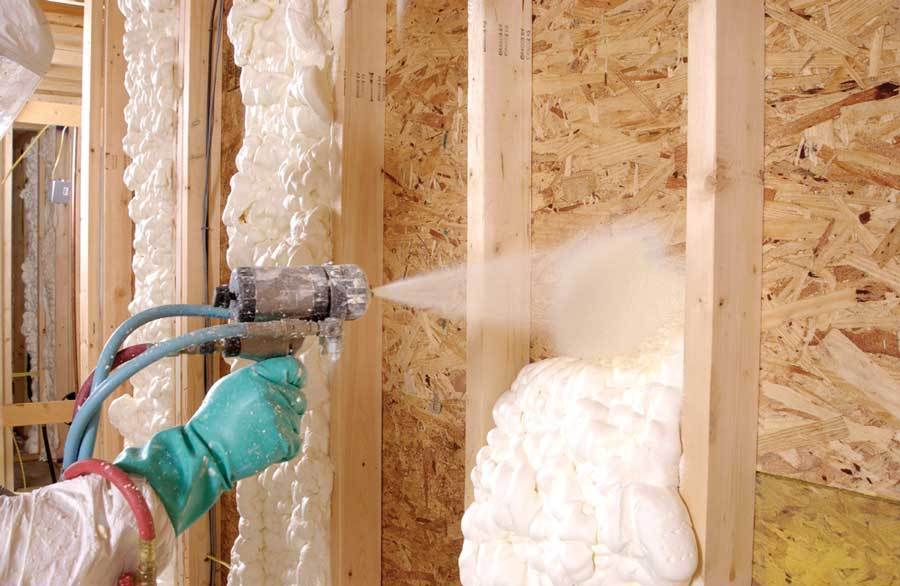 Fill cavity with insulation