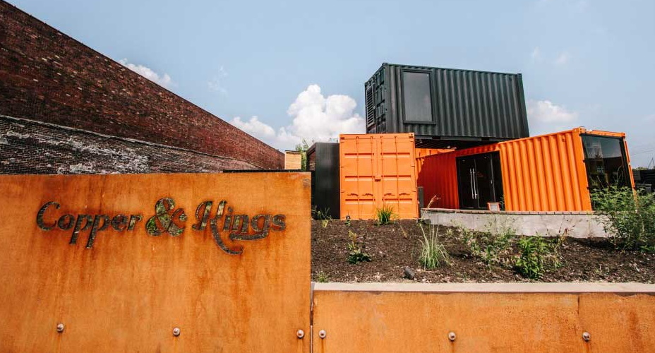 Shipping Container Brewery and Distilleries