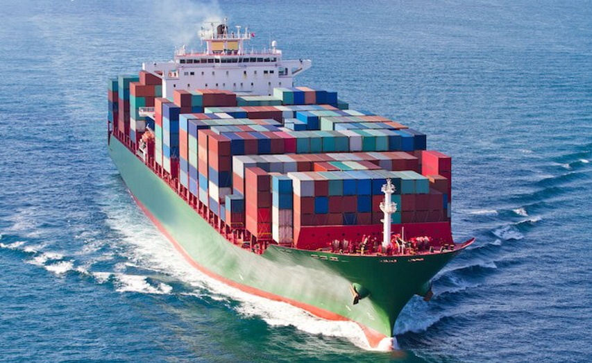 International Cargo Container Shipping