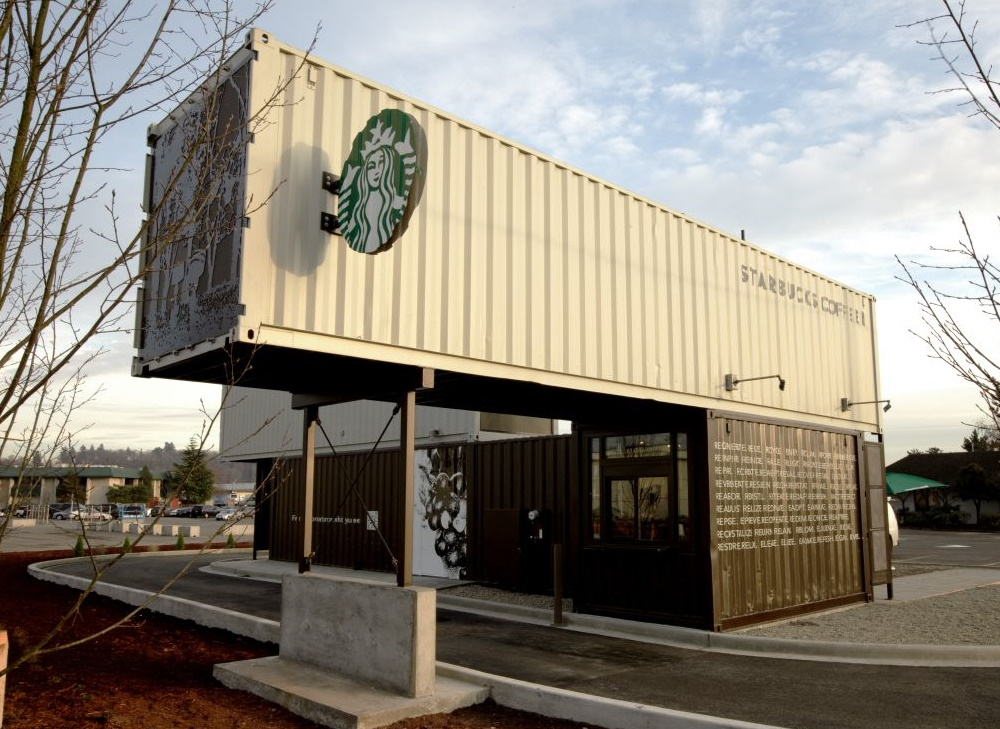 Shipping Container Cafe and Coffee Shops
