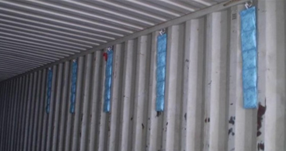 shipping container desiccants