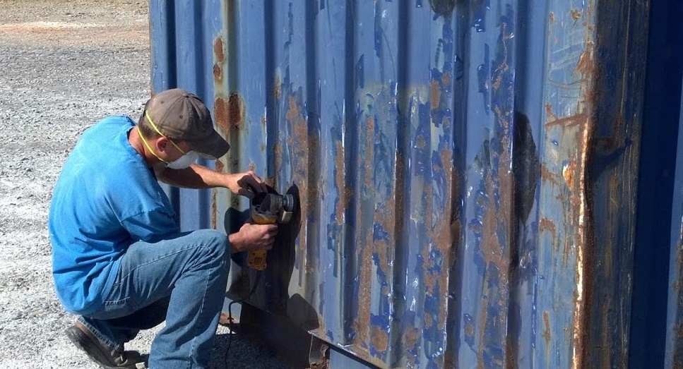 shipping container rust prevention