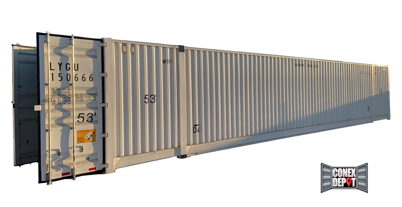 53FT New (One Trip) Shipping Container